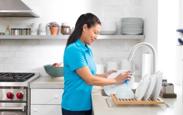 Service home cleaning