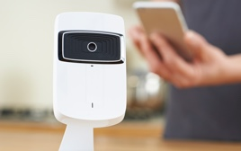 Service smart home security cam